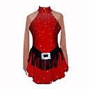 Chica de Patinaje Artístico Vestido (Rojo)