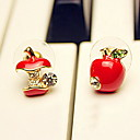 Women's Mini Apple Studs(Diameter:0.8cm)
