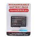 paquete de baterías recargables para Nintendo DS Lite  destornillador (2000mAh)