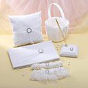Colección de la boda de diamante de imitación (5 piezas)