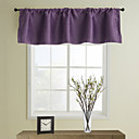 Clásico Tailored Valance Purple