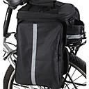 Cycling Pack equipaje grande con ampliar el espacio y burbuja de lluvia