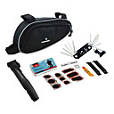 14-in-1 Folding Bicycle Repair inoxidable Set con bolsa de herramientas y la bomba 21255
