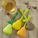 Perfect Pear Shaped Silicone Tea Infuser Favor (More Colors) thumbnail
