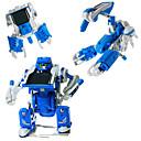 3-en-1 de bricolaje solar robot de juguete educativo kit de montaje