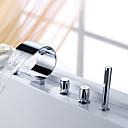 Sprinkle - Wasserfall Badewanne Wasserhahn mit Handbrause (gebogene Form Design)