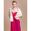 boda preciosa piel sintética / de la ocasión especial mantón / abrigo con diamantes de imitación (más colores)
