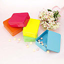 Cuboid Matel Favor Tin - Set of 6 (More Colors)