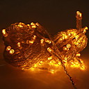 100 de color amarillo claro boda llevó cadena decoración (10m, 220v)