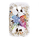 Butterfly Pattern Soft Case para Samsung Galaxy Tendencia Duos S7562