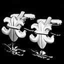 Elegant Fleur-de-lis Cufflinks (More Colors)