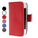 Funda de Cuero PU para iPhone 4/4S (Varios Colores)