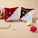 Almohada del anillo de boda con la flor (más colores)