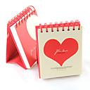 Amor 100 días Plan de Calendario Notebook (colores aleatorios)