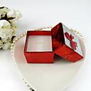 Brillante papel con la caja de joyería de las mujeres del Bowknot (más colores)