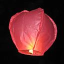 Linterna para Cielo Nocturno en Forma de Corazón (Color Aleatorio)