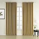 absorción acústica cortina textura natural de ahorro de energía (dos paneles)