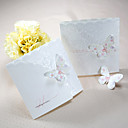Wedding Invitation Spring Butterfly Tri-fold(Set of 50)