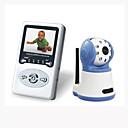 Monitor de Bebés 2.4G Digital Wireless (Con Altavoz y Micrófono de 2 Direcciones)