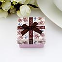 Caja de joyería de papel hermoso de la mujer