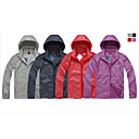 Eamkevc unisex chaqueta ultravioleta resistente a prueba de viento impermeable y transpirable