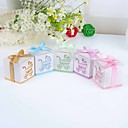 Babys Day Out Laser Cut Carriage Favor Box – Set of 12 (More Colors)