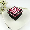 Caja de joyería de papel simple de las mujeres (más colores)