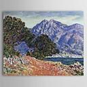 Famous Oil Painting Cap Martin por Claude Monet
