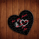 Corazón en forma personalizada Jigsaw Puzzle - Double Heart