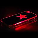 Funda de Cuerpo Entero con Diseño de Estrellas y Luz de Flash para iPhone 5