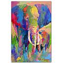 arte de la lona estirada animales elefante 1 por richard Wallich listo para colgar