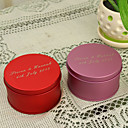 Personalized Round Favor Tin - Set of 12 (More Colors)