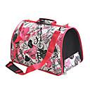 Amor Lotus Pattern Ventilative mochila de viaje portátil para mascotas para perros (SL)