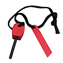 Survival Magnesium Stick with Nylon Rope and Iron Ignition (Random Color)