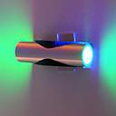 2W llevó la luz de la pared moderna con la dispersión de luces UFO del cuerpo Recta Cilindro