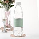 Agua personalizada Etiqueta Botella - Pin Dot (Mint / Juego de 15)