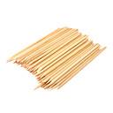100PCS Nail Art palo de madera con la cutícula Pusher