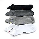 4 pares unisex Peine Deportes calcetines de algodón 813003