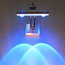 2W llevó la luz de pared moderno con dispersión de la luz Efecto Sombra entrelazado