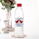 Agua personalizada Etiqueta Botella - Birds Muñecas (Red / Juego de 15)