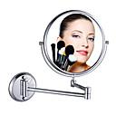 Cosmética Double Sided Ampliación de mesa Espejo de maquillaje