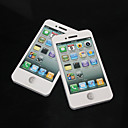 Blancas del iPhone 4S Patrón autoadhesivas Notes
