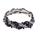 lureme-alloy-resin-marquise-pattern-bracelet