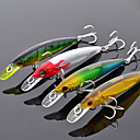 Trulinoya-Hard Bait Internal Radiation Minnow 95mm/9g/1m Fishing Lure