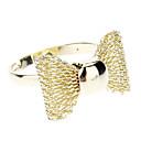 Bowknot anillo ajustable