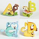 26pcs 26 letras 3d Animales Puzzles Educación Temprana