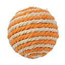 bola de la cuerda de cáñamo para los animales domésticos (colores aleatorios)