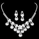 aleación de circonio flor Hining joyas patrón de la boda y