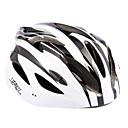 ST011 EPS Materiales Ajustable bici del camino de MTB Casco Ciclismo - Tamaño 59cm-63cm, 18 Vents (Blanco)