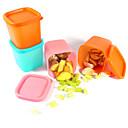 230 Ml Multifuncional Microondas Nevera Mini contenedores de almacenamiento de alimentos frescos de plástico con tapa